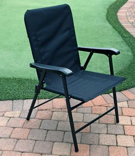 black elite chair