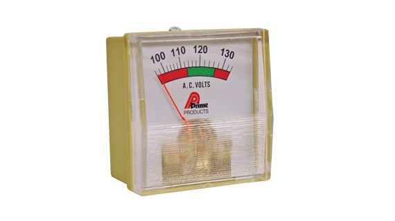 AC Line Voltage Meter