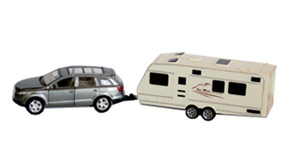 SUV & Trailer