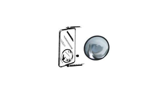 """3 3/4"""" Convex Spot Mirror"""