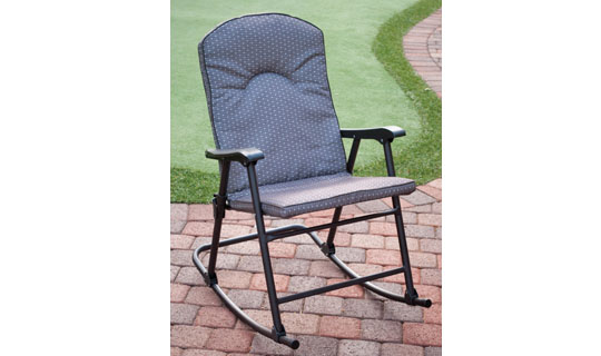 Cambria Padded Folding Rockers