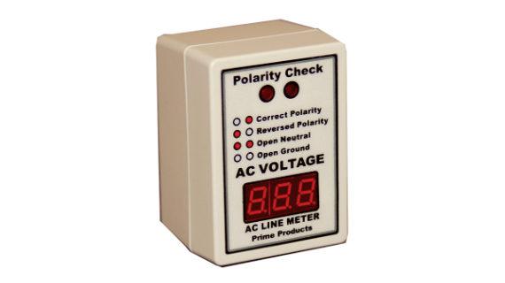 Digital AC Volt Meter & Polarity Tester
