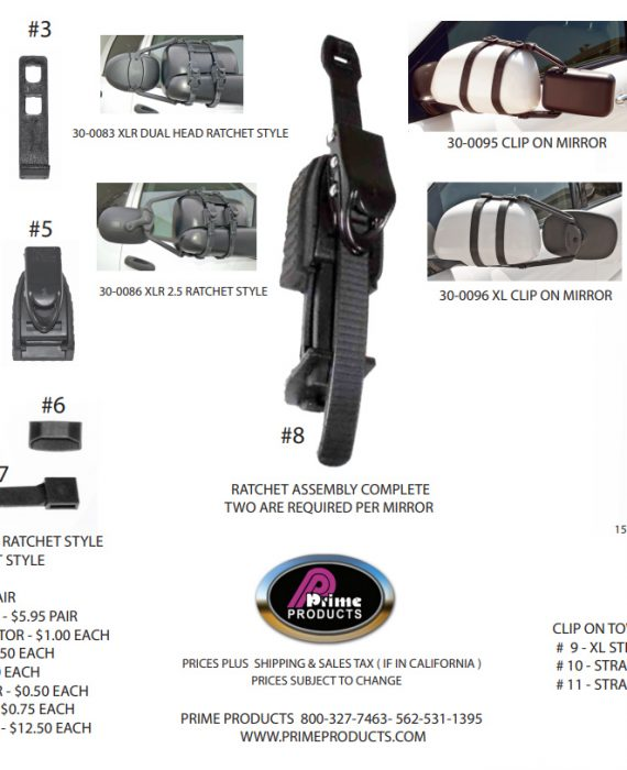 Parts For Tow Mirrors
