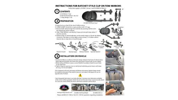 XLR INSTRUCTIONS