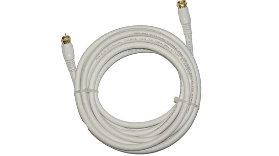 RG6U Coaxial Cable ( 3', 6', 12', 25', 50' & 100' Lengths )