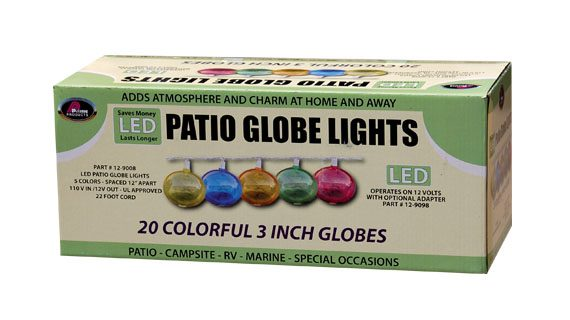 LED Patio Lights - Multi-Color